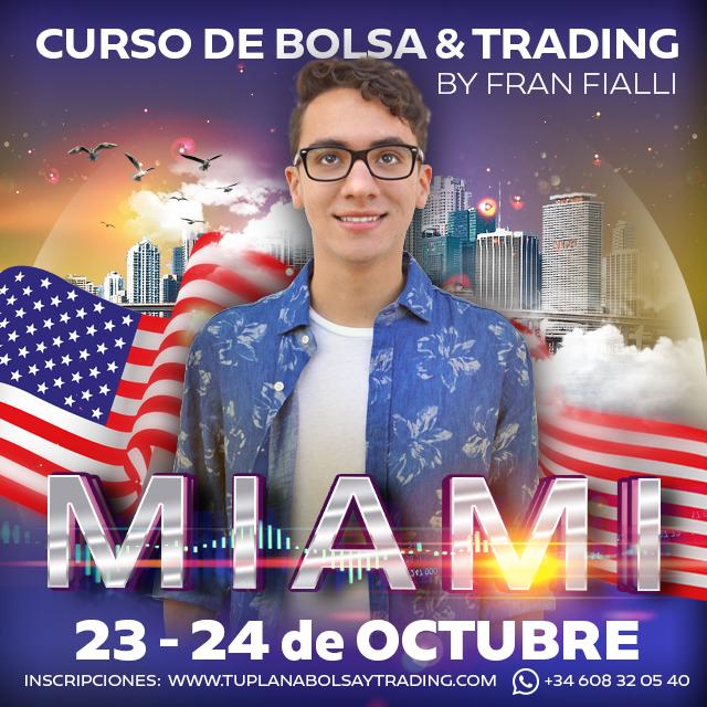 Curso Bolsa y Trading intensivo en Miami