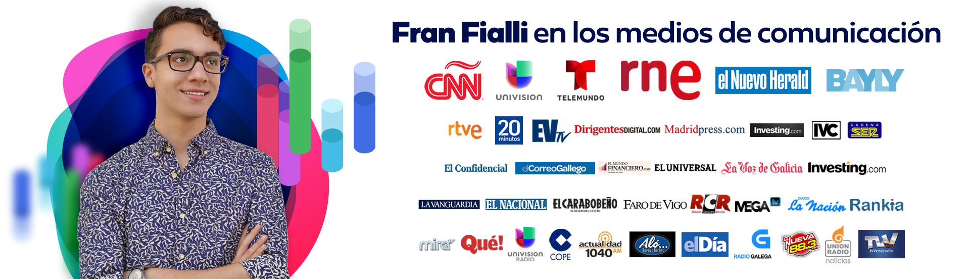 Fran Fialli en los medios de comunicación